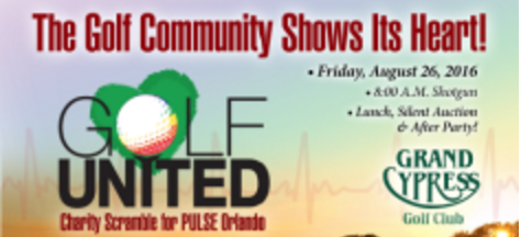Golf Tournament to Benefit PULSE/One Orlando Fund, 8/26
